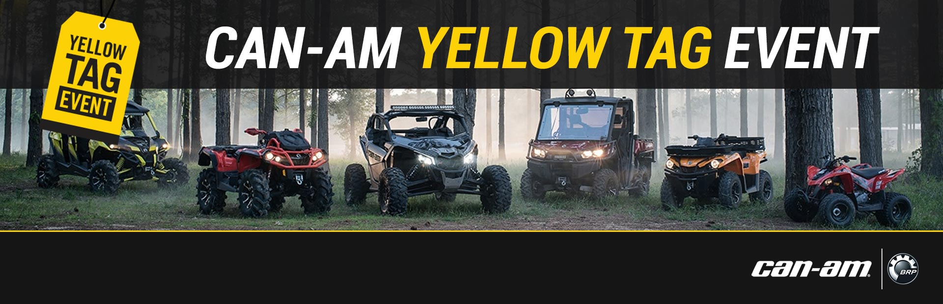 Can-Am: Can-Am Yellow Tag Event